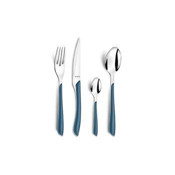 Amefa Retail Eclat Blauwdenim Cutlery Set 24 Pcs