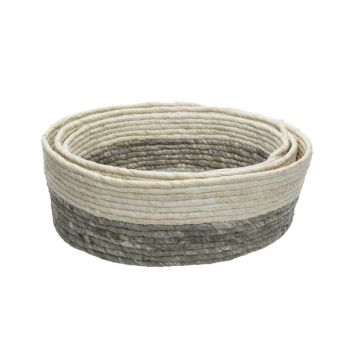 Cosy & Trendy Basket Set3 D35-32-29xh12cm Sea Grass