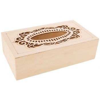 Cosy & Trendy Storage Box Kleenex Design 26x14.5x7.5