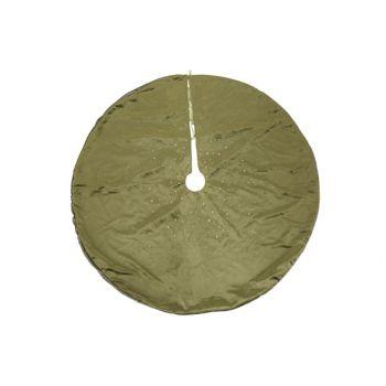 Cosy @ Home Tree Skirt Strass Green D90cm Velvet