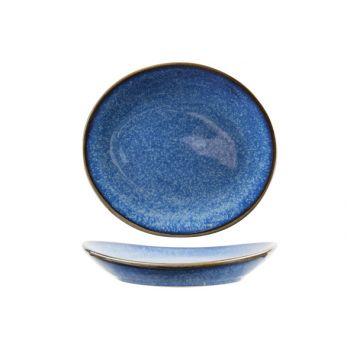 Cosy & Trendy Narwal Blue Apero Plate  14,7x13xh2,4cm