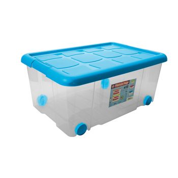 Hega Hogar Happy Storage Box 36l 59x40,5xh25,7cm