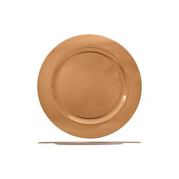 Cosy & Trendy Platter Copper Color D33cm