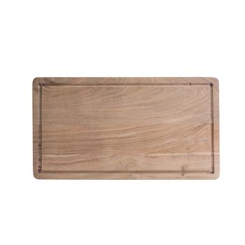 Cosy & Trendy Serving Plate + Groove 45x25xh5cm Acacia