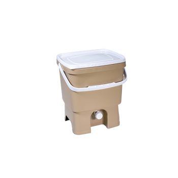 Plastika Skaza Bokashi Organico Eco Container Beige