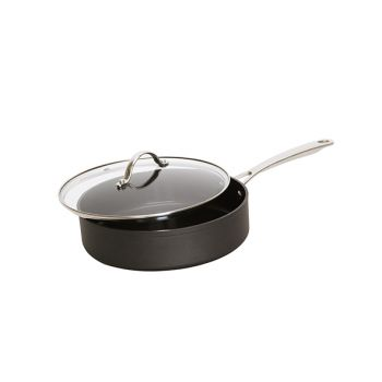 Cosy & Trendy Healthy Pan Alu Saute Pan Black D24cm