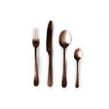 Amefa Retail Vintage 24 Piece Cutlery Set Copper