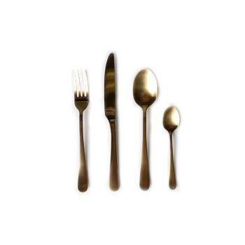 Amefa Retail Vintage 24 Piece Cutlery Set Gold