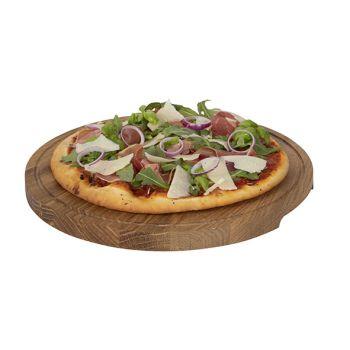 Boska Pizza Serving Plate L D34xh2cm Oak