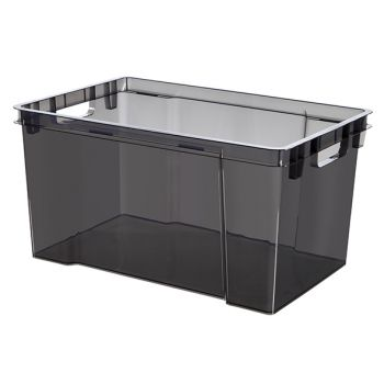 Keter Crownest Box 30l Smokey Grey 42.6x36.1x