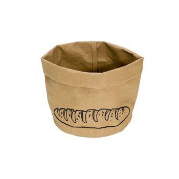 Cosy & Trendy Bread Basket Text Bread 12x21cm