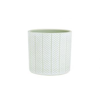 Cosy @ Home Flowerpot Herring Green 13,5x13,5xh13cm