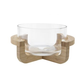 Cosy & Trendy Salad Bowl 30x25xh15,3cm Glass