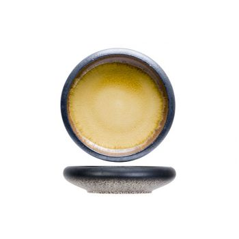 Cosy & Trendy Fervido Yellow Apero Dish D9,6xh3,5cm