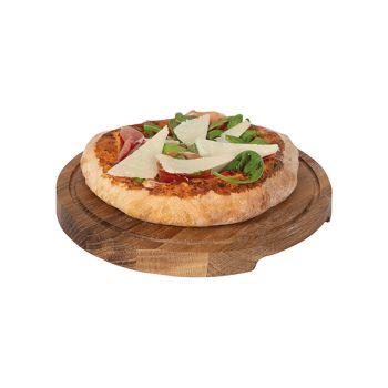 Boska Pizza Serving Plate S D24xh2cm Oak Round