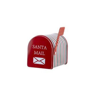Cosy @ Home Mail Box Box Santa Mail Red 13,3x8xh9,5c