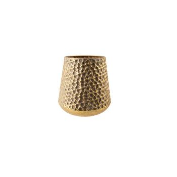 Cosy @ Home Wind Light Hammered Gold 22x22xh23cm Met