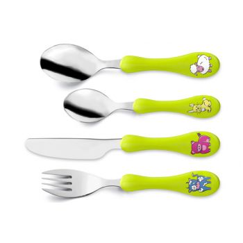Amefa Retail Children's Cutlery S4 Green