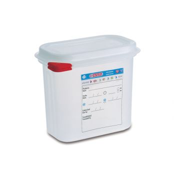 Araven Storage Box Herm. Gn1-9 1.5l H15cm Poly
