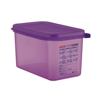Araven Food Cont Airtight Gn 1-4 Purper 4.3l