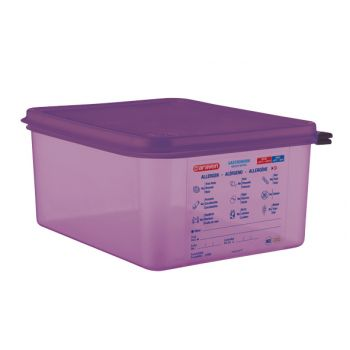 Araven Food Cont Airtight Gn 1-2 Purper 10l