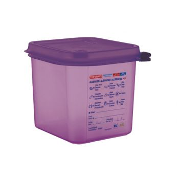 Araven Food Cont Airtight Gn 1-6 Purper 2.6l