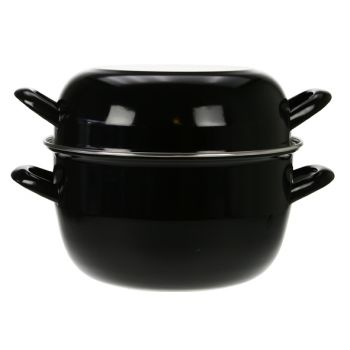 Cosy & Trendy For Professionals Mussel Casserole D24cm Black-new Model