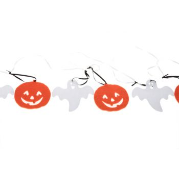 Cosy @ Home Pumpkin&ghost Garland Felt 2,3m