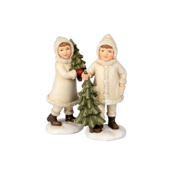 Cosy @ Home Boys Xmas Tree Cream 2 Types 8x6x16cm