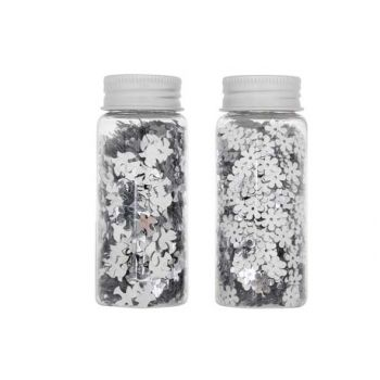 Cosy @ Home Confetti Silver Flower/bird 9mm 30g 2 Types