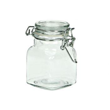Cosy & Trendy Jar Glass Square D4,5xh8cm  110ml
