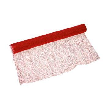Cosy @ Home Decofrabric Roll 40x200cm Red Gauze