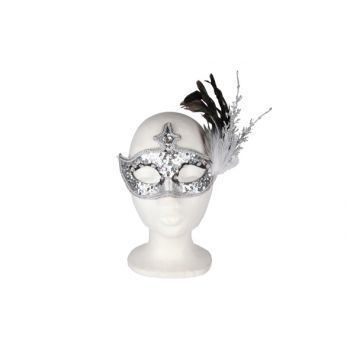 Cosy @ Home Eyemask Feather Branches Silverglit 19cm