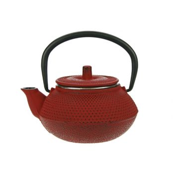 Cosy & Trendy Kobe Teapot Cast Iron 0,3l Red 1pers
