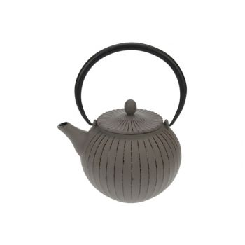 Cosy & Trendy Lantern Grey Teapot With Filter Tsp80