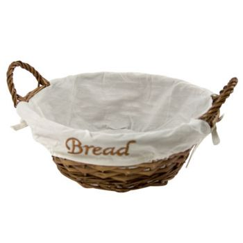 "Cosy & Trendy Basket Round """"bread"""" D25xh8,5cm-3 Types"