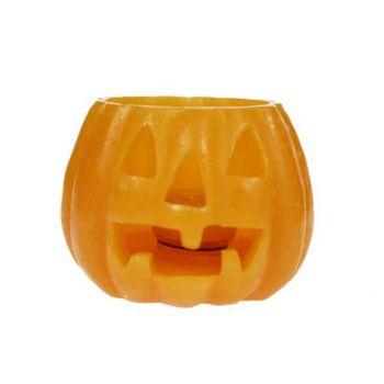 Cosy @ Home Candle Pumpkin 13x13x19,5cm Orange