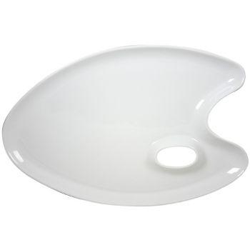 Cosy & Trendy Dish White 42x27,4cm Painters Palet