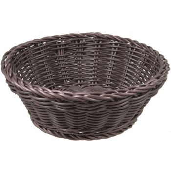 Cosy & Trendy For Professionals Ct Prof Basket Brown Round D20xh8cm