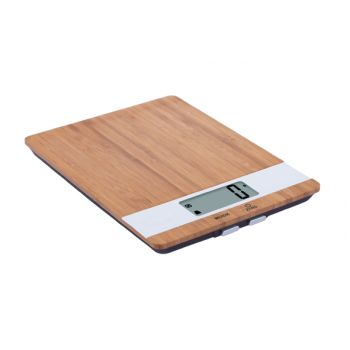 Cosy & Trendy Kitchen Scale Bamboo White Electr. Cap.