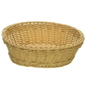 Cosy & Trendy For Professionals Ct Prof Basket Natural Oval 25x20xh7,5cm