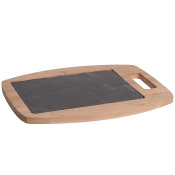 Cosy & Trendy Sonora Board W/handle Comb. Slate-bamboo