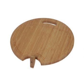 Cosy & Trendy Bamboo Meat Cutting Board W Juice Gutter