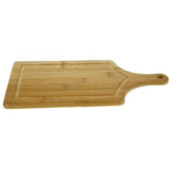 Cosy & Trendy Cutting Board W Juice Gutter Bamboo