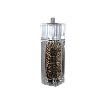 Bisetti Pepper Mill+salt Shaker Genova 16cm Acry