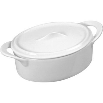 Cosy & Trendy Patedish With Lid 16cl 8x14xh5,5cm Oval
