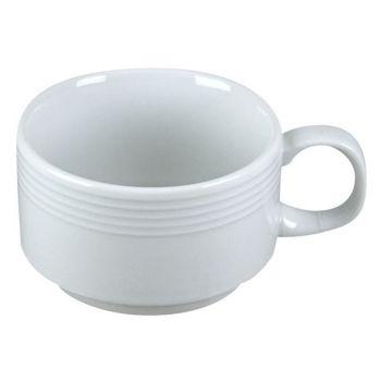 Cosy & Trendy Linea White Mug D8,5xh6cm Emp 19cl