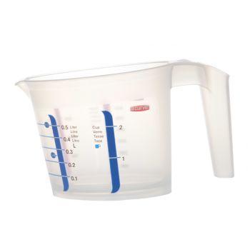 Curver Chef@home Measuring Bowl 0,5l Transp Pp