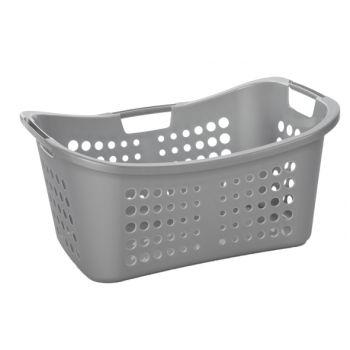Curver Victor Washing Basket Ergo Silver 50l