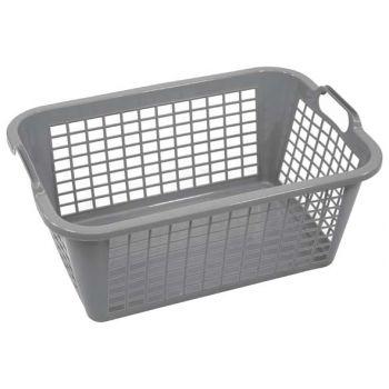 Cosy & Trendy Washing Basket Gray 60cm